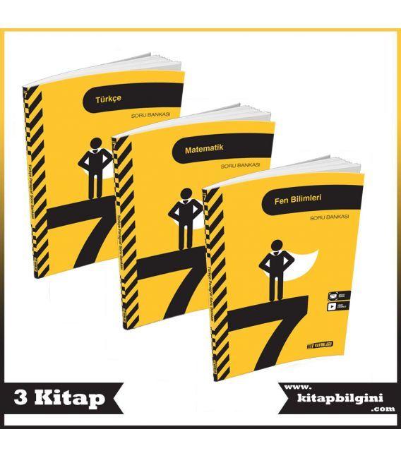 Hız Yayınları 7. Sınıf Soru Bankası Kampanyalı Set (3 Kitap)
