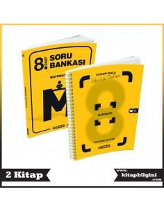 Hız Yayınları 8. Sınıf Matematik Kampanyalı Set (2 Kitap)