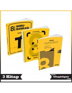 Hız Yayınları 8. Sınıf Türkçe Kampanyalı Set (3 Kitap)