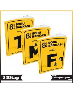 Hız Yayınları 8. Sınıf Soru Bankası Kampanyalı Set (3 Kitap)