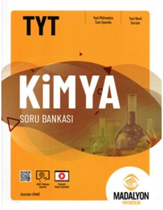Madalyon Yayınları TYT Kimya Soru Bankası