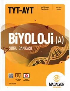 Madalyon Yayınları TYT AYT Biyoloji A Soru Bankası