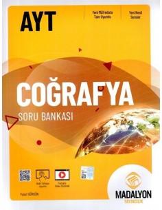 Madalyon Yayınları AYT Coğrafya Grubu Soru Bankası