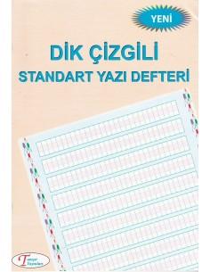 Dik Çizgili Standart Yazı Defteri Küçük Boy Tanışır Yayınları