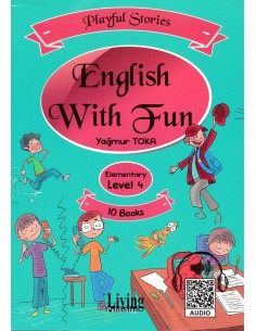 Living Yayınları English With Fun Elementary Level4 10 Kitap
