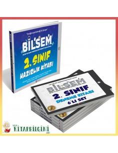2. Sınıf Bilsem Hazırlık Kitabı ve 6'lı Deneme Kitabı Kampanyalı Set