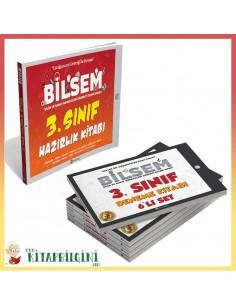 3. Sınıf Bilsem Hazırlık Kitabı ve 6'lı Deneme Kitabı Kampanyalı Set
