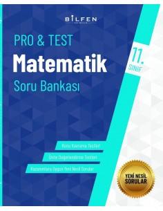 Bilfen Yayınları 11. Sınıf  Pro Test Matematik Soru Bankası