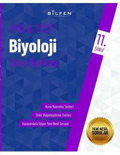Bilfen Yayınları 11. Sınıf  Pro Test Biyoloji  Soru Bankası