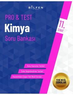 Bilfen Yayınları 11. Sınıf  Pro Test Kimya Soru Bankası