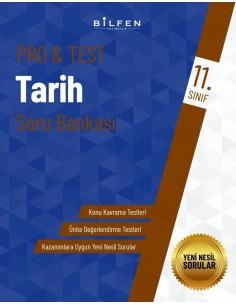 Bilfen Yayınları 11. Sınıf  Pro Test Tarih Soru Bankası