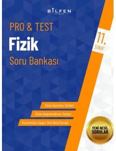 Bilfen Yayınları 11. Sınıf  Pro Test Fizik Soru Bankası