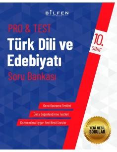 Bilfen Yayınları 11. Sınıf  Pro Test Türk Dili ve  Edebiyatı Soru Bankası