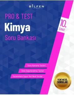 Bilfen Yayınları 10. Sınıf  Pro Test Kimya Soru Bankası