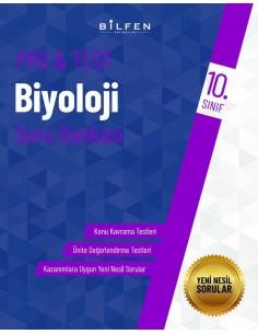 Bilfen Yayınları 10. Sınıf  Pro Test Biyoloji Soru Bankası