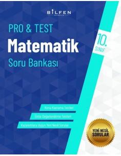 Bilfen Yayınları 10. Sınıf  Pro Test Matematik Soru Bankası