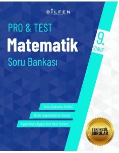 Bilfen Yayınları 9. Sınıf  Pro Test Matematik Soru Bankası