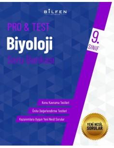 Bilfen Yayınları 9. Sınıf  Pro Test Biyoloji Soru Bankası