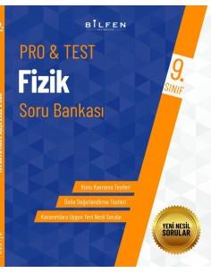 Bilfen Yayınları 9. Sınıf  Pro Test Fizik  Soru Bankası