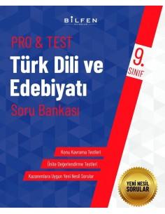 Bilfen Yayınları 9. Sınıf  Pro Test Türk Dili ve  Edebiyatı Soru Bankası