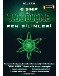 Bilfen Yayınları Ortaokul 6.Sınıf Fen Bilimleri Tam Ölçme Soru Bankası