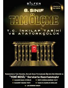 Bilfen Yayınları 8.Sınıf T.C İnkılap Tarihi Ve Atatürkçülük Tam Ölçme