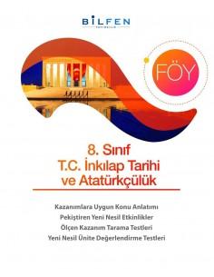 Bilfen Yayınları 8. Sınıf TC İnkılap Tarihi ve Atatürkçülük Öğrenim Föyleri
