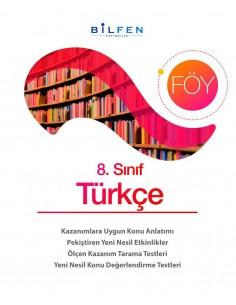 Bilfen Yayınları 8. Sınıf  Türkçe  Öğrenim Föyleri