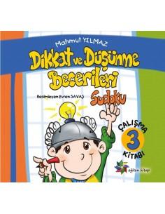 Dikkat ve Düşünme Becerileri 3 Sudoku Eğiten Kitap Yayınları