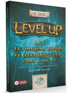 8. Sınıf Level Up LGS T.C. İnkılap Tarihi ve Atatürkçülük Soru Bankası
