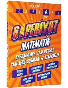 Netbil Yayınları 6. Sınıf Matematik Periyot Etkinlikli Soru Bankası