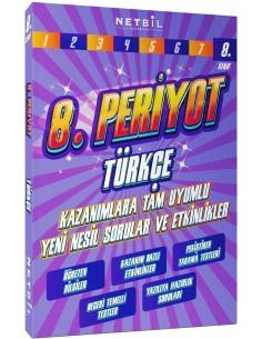 Netbil Yayınları 8. Sınıf Türkçe Periyot Etkinlikli Soru Bankası