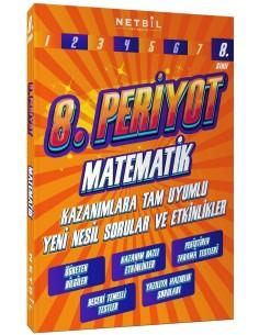 Netbil Yayınları 8. Sınıf Matematik Periyot Etkinlikli Soru Bankası
