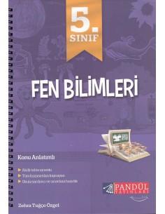 Pandül Yayınları 5. Sınıf Fen Bilimleri Defteri