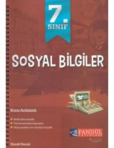 Pandül Yayınları 7. Sınıf Sosyal Bilgiler Defteri