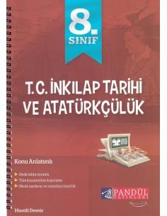 Pandül Yayınları 8. Sınıf İnkilap Tarihi Defteri