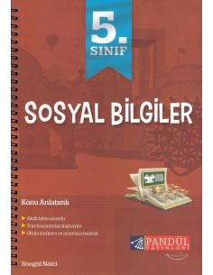 Pandül Yayınları 5. Sınıf Sosyal Bilgiler Defteri