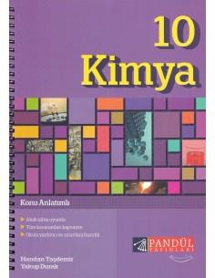 Pandül Yayınları 10. Sınıf Kimya Defteri