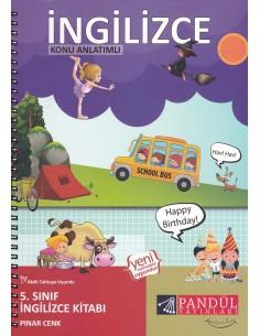 Pandül Yayınları 5. Sınıf Konu Anlatımlı İngilizce Kitabı