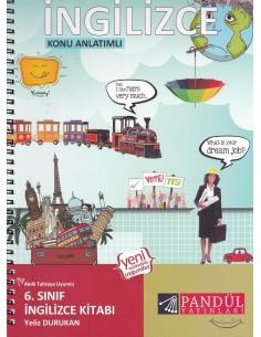 Pandül Yayınları 6. Sınıf Konu Anlatımlı İngilizce Kitabı