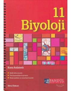 Pandül Yayınları 11. Sınıf Biyoloji Defteri