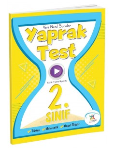 5 Renk Yayınları 2.Sınıf  Tüm Dersler Yaprak Test