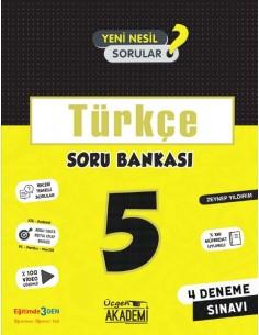 Üçgen Yayınları 5. Sınıf Türkçe Soru Bankası