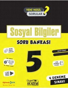 Üçgen Yayınları 5. Sınıf Sosyal Bilgiler Soru Bankası