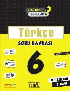 Üçgen Yayınları 6. Sınıf Türkçe Soru Bankası
