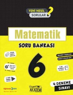 Üçgen Yayınları 6. Sınıf Matematik Soru Bankası