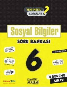 Üçgen Yayınları 6. Sınıf Sosyal Bilgiler Soru Bankası