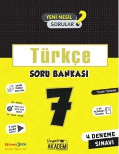 Üçgen Yayınları 7. Sınıf Türkçe Soru Bankası