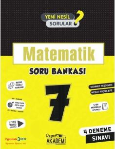 Üçgen Yayınları 7. Sınıf Matematik Soru Bankası