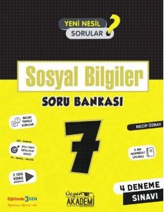 Üçgen Yayınları 7. Sınıf Sosyal Bilgiler Soru Bankası